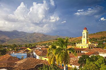 View of Museo de la Lucha Contra Bandidos, the former convent of San Francisco de Assisi, Trinidad, UNESCO World Heritage Site, Sancti Spiritus Province, Cuba, West Indies, Caribbean, central America