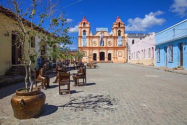 Iglesia de Nuestra Senora del Carmen, Plaza del Carmen, Camaguey, Camaguey Province, Cuba, West Indies, Caribbean, Central America