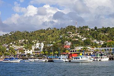 Harbour, Samana, Eastern Peninsula de Samana, Dominican Republic, West Indies, Caribbean, Central America
