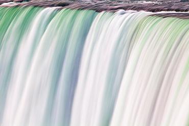 Horseshoe Falls, Niagara Falls, Niagara, border of New York State, and Ontario, Canada, North America