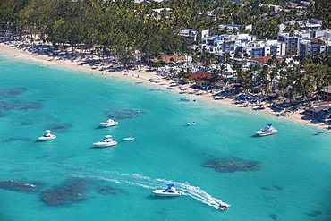 View of Bavaro Beach, Punta Cana, Dominican Republic, West Indies, Caribbean, Central America