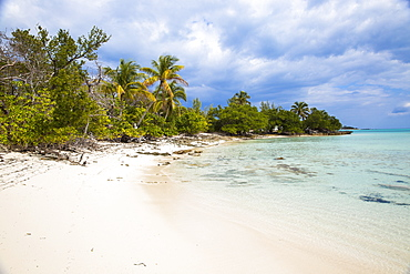 New Plymouth, beach, Green Turtle Cay, Abaco Islands, Bahamas, West Indies, Central America