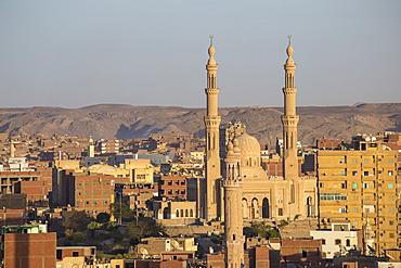 View of Aswan skyline, Aswan, Upper Egypt, Egypt, North Africa, Africa