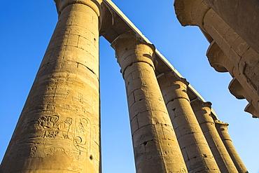 Luxor Temple, UNESCO World Heritage Site, Luxor, Egypt, North Africa, Africa