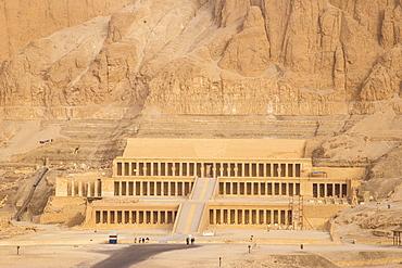 Temple of Hatshepsut, UNESCO World Heritage Site, West Bank, Luxor, Egypt, North Africa, Africa
