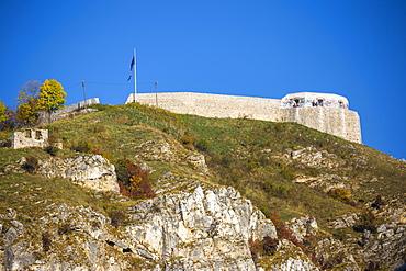 View towards Vratnik Citadel, Sarajevo, Bosnia and Herzegovina, Europe