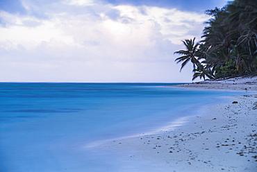 Tropical beach, Rarotonga, Cook Islands, South Pacific, Pacific