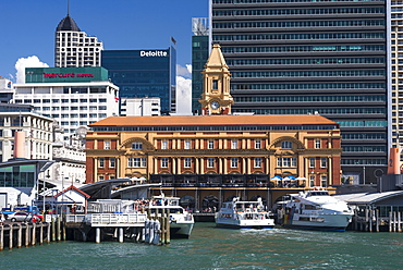 Auckland Ferry Terminal, Auckland, North Island, New Zealand, Pacific