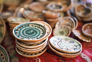 Horezu ceramics, a unique type of Romanian pottery, UNESCO Cultural Heritage List, Wallachia, Romania, Europe