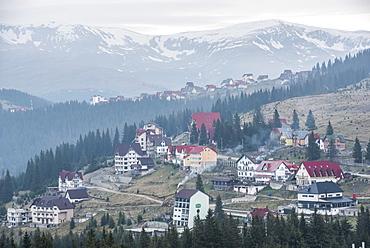 Ranca, a ski resort in the Parang Mountains, Carpathian Mountains, Oltenia Region, Romania, Europe