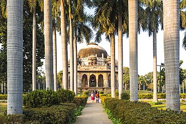 Tomb of Muhammad Shah, Lodhi Gardens (Lodi Gardens), New Delhi, India, Asia