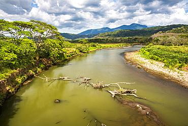 River Tarcoles, Punta Arenas Region, Costa Rica, Central America