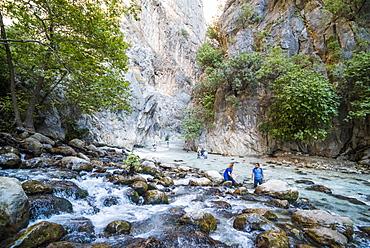 Saklikent Gorge, Saklikent National Park, Fethiye Province, Lycia, Anatolia, Turkey, Asia Minor, Eurasia
