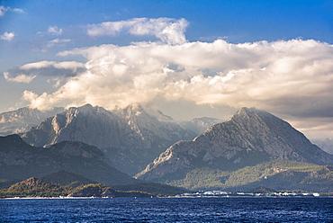 Tahtali, Taurus Mountains, Kemer, Antalya Province, Lycia, Anatolia, Mediterranean Sea, Turkey, Asia Minor, Eurasia