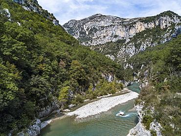 Verdon Gorge (Canyon du Verdon), Alpes-de-Haute-Provence, South of France, Europe