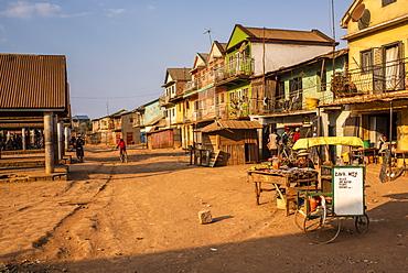 Market near Antsirabe, Vakinankaratra Region, Madagascar, Africa