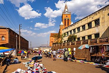 Market at Antsirabe, Vakinankaratra Region, Madagascar, Africa