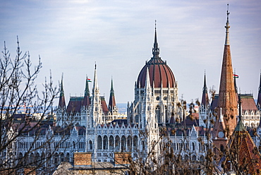 Houses of Parliament, Budapest, Hungary, Europe