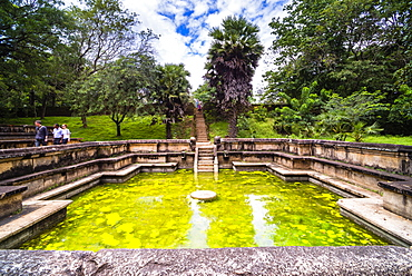 Bathing Pool (Kumara Pokuna) of Parakramabahu's Royal Palace, Polonnaruwa, UNESCO World Heritage Site, Cultural Triangle, Sri Lanka, Asia