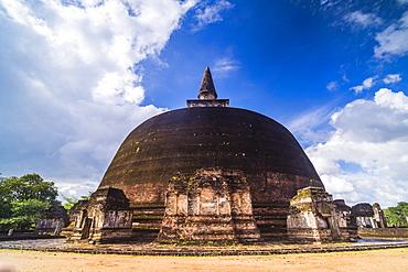 Rankot Vihara Dagoba, Polonnaruwa, UNESCO World Heritage Site, Sri Lanka, Asia