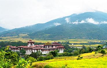 Punakha Dzong, Bhutan, Asia