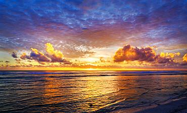 Sunset, West Island, Cocos Keeling Islands.
