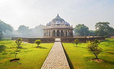 Isa Khan Tomb in Delhi, India, Asia