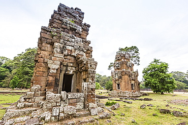 Elephant King Terrace in Angkor Thom, Angkor, UNESCO World Heritage Site, Siem Reap Province, Cambodia, Indochina, Southeast Asia, Asia