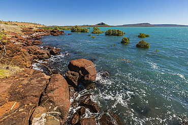 High tide in Camden Harbour, Kimberley, Western Australia, Australia, Pacific
