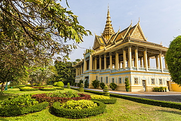 The Moonlight Pavilion, Royal Palace, in the capital city of Phnom Penh, Cambodia, Indochina, Southeast Asia, Asia