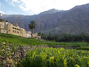 Bilad Sayt, a mountain village located in the Al Hajar Mountains, Sultanate of Oman, Middle East