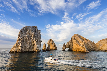 The famous granite arch at Land's End, Cabo San Lucas, Baja California Sur, Mexico, North America