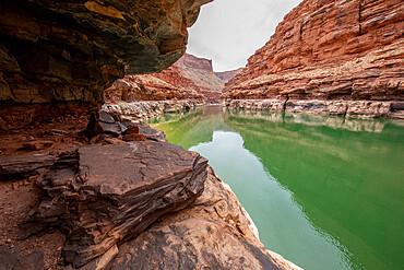 Marble Canyon along the Colorado River, Grand Canyon National Park, Arizona, USA.