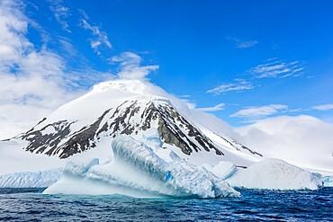 Large iceberg off the shore of Astrolabe Island, Bransfield Strait, Trinity Peninsula, Antarctica, Polar Regions