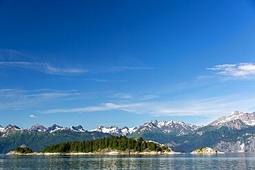 South Marble Islands, Glacier Bay National Park, UNESCO World Heritage Site, Southeast Alaska, United States of America, North America