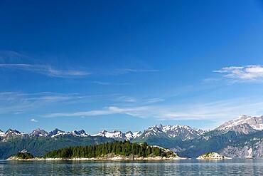 South Marble Islands, Glacier Bay National Park, Southeast Alaska, USA.