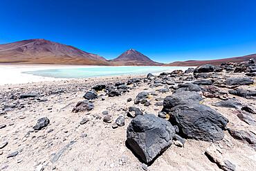 Laguna Verde in the Eduardo Avaroa Andean Fauna National Reserve, Potosi Department, Bolivia.