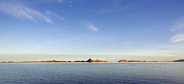 Panoramic of Lake Argyle, Lake Argyle, near Kununurra, Western Australia, Australia