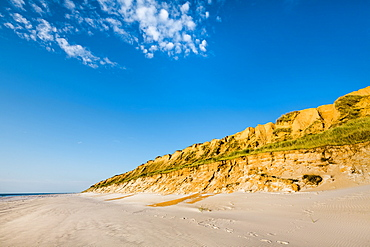 Red cliff, Kampen, Sylt Island, North Frisian Islands, Schleswig-Holstein, Germany