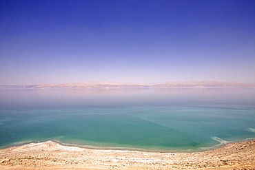 Nice view to the Dead Sea, Masada, Dead Sea, Israel