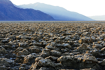 Plain in Devil´s Golfcourse in Death Valley National Park, Cailfornia, USA, America