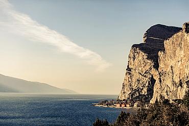 Campione Del Garda, Lake Garda, Alps, Lombardy, Italy