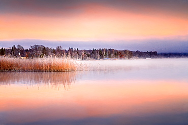 Sunrise at Fohnsee (Ostersee), Bavaria, Germany