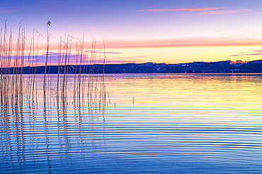 Sunrise at Lake Starnberg, Bavaria, Germany