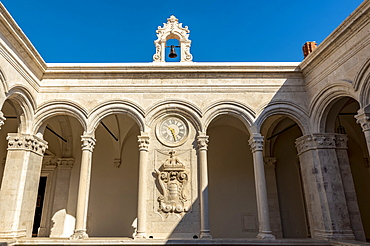 The Rector's Palace courtyard, Dubrovnik, Dubrovnik-Neretva County, Croatia