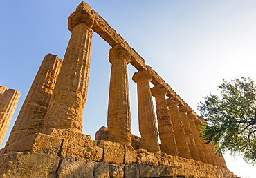 Ruins at the Temple of Juno, Sicily, Italy