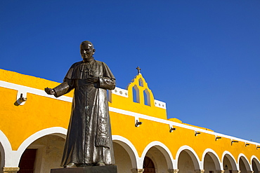Convent of San Antonio de Padua, completed in 1561, Izamal, Yucatan, Mexico