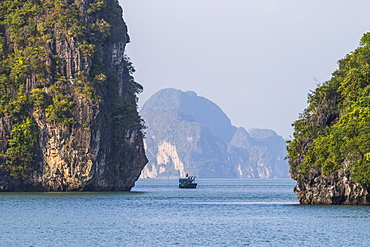Limestone karsts and isles of Ha Long Bay, Quang Ninh, Vietnam