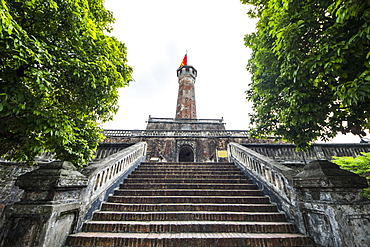 Hanoi Flag Tower by the Imperial Citadel of Thang Long, Hanoi, Hanoi, Vietnam