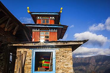 Himalayan Buddhist temple, Nepal